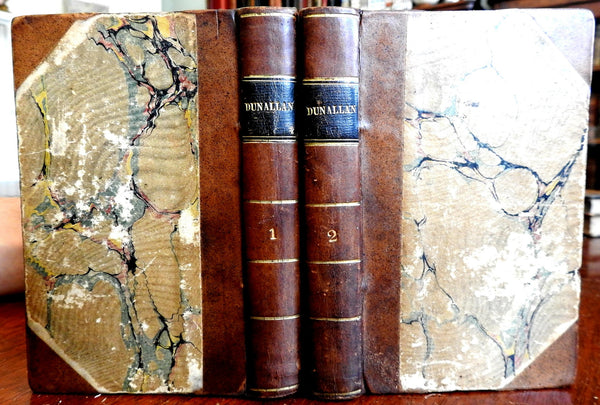 Dunallan Know What You Judge 1828 Grace Kennedy Duyckinck rare set leather books