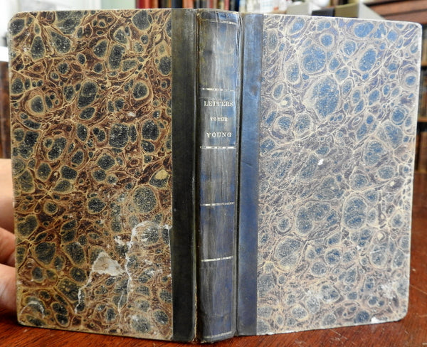Advice for Young Women Maria Jane Jewsbury & Legh Richmond 1829 leather book