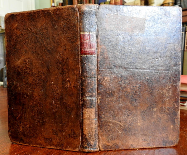 Calvinistic Controversy Rev. Wilson Fisk Religion Christianity 1837 leather book