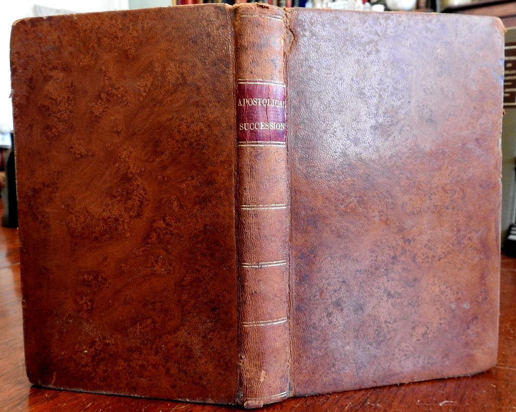 Anti-Catholicism Protestant Polemic Thomas Powell 1845 lovely leather book