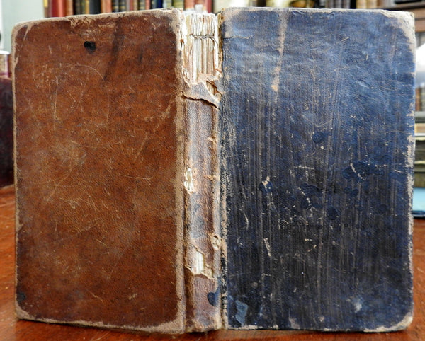 Quakerism Religion Christianity 1788 Barclay Philadelphia American leather book