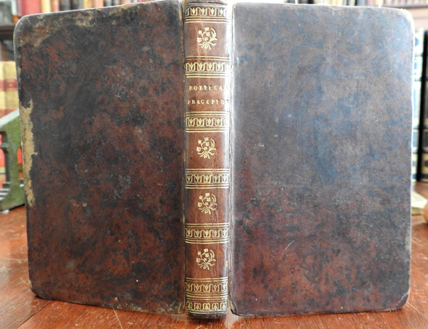 Young Gentleman and Lady's Poetical Preceptor 1807 T. Woolston leather book