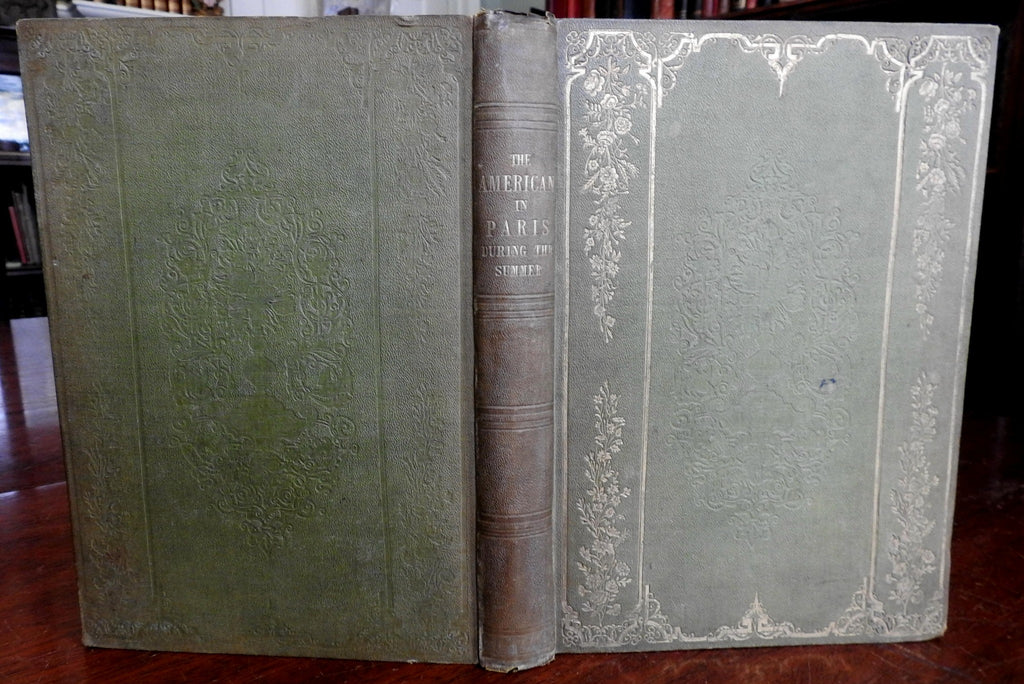 American in Paris During Summer 1844 Heath's Annual illustrated book 18 plates