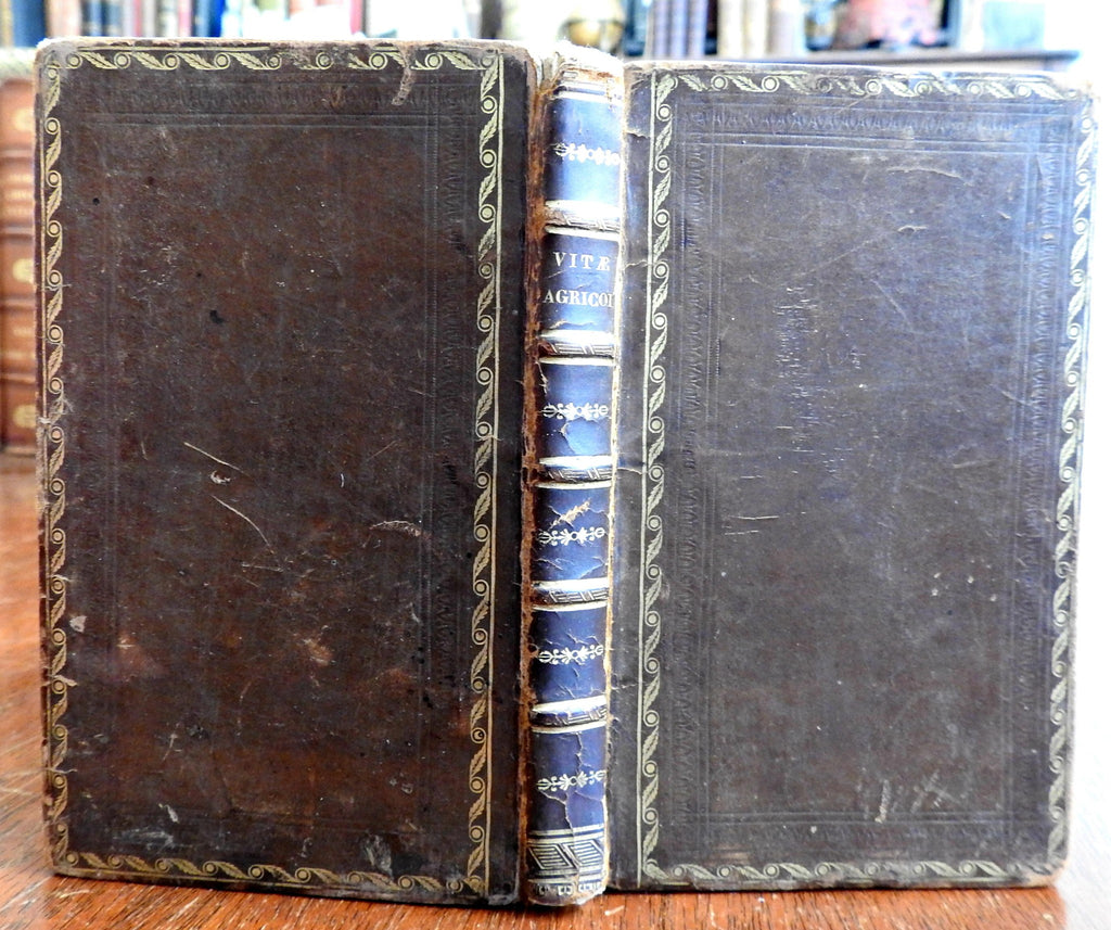 Life of Julius Agricola Roman General 1808 Tacitus Napoleonic era leather book