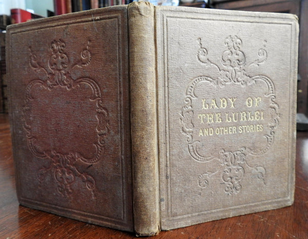 Lady of Lurlei & Other Stories for Children 1852 juvenile's illustrated book