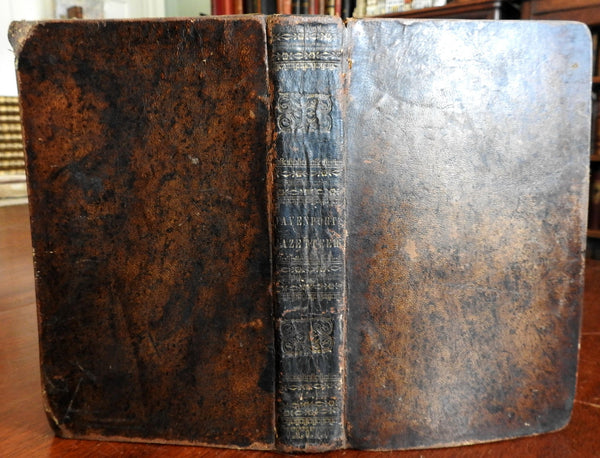 Geographical Dictionary of North America West Indies 1838 Davenport w/ U.S. map