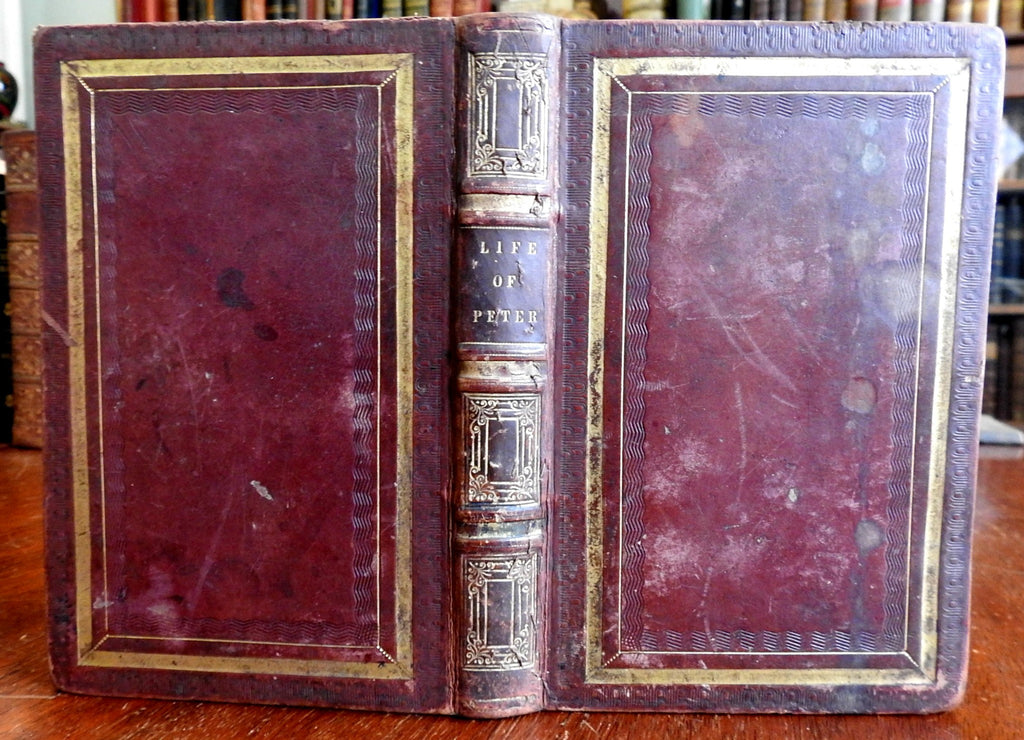 Life & Writings of St. Peter 1836 American Sunday School Union old book