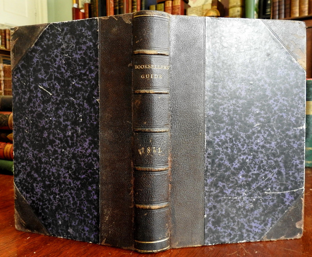 American Booksellers' Guide 1871 w/ advertising periodical twelve monthly issues