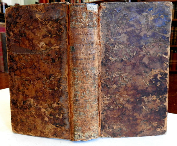 Mercure de France French 1780 American Revolution political events of era book