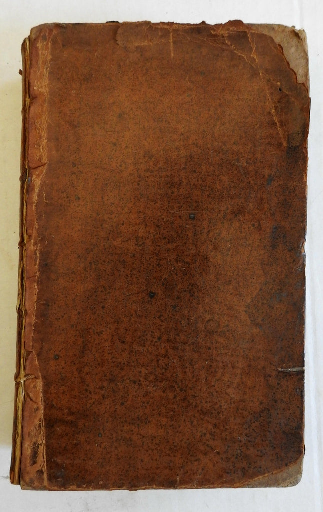 The Whole Duty of Man 1771 Christian morality tract rare leather book