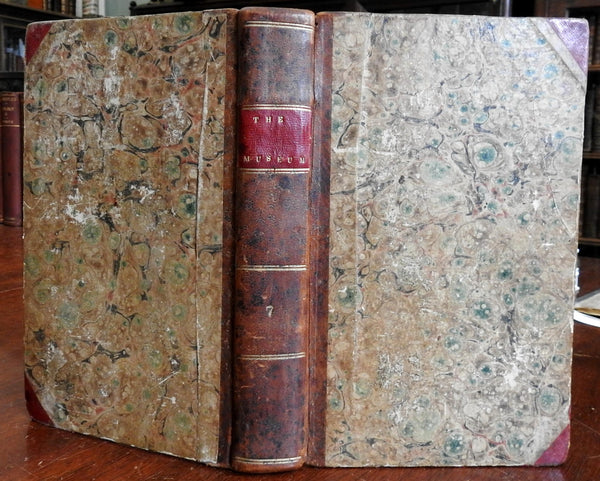 Museum a Collection of Foreign Literature and Science 1825 old American book