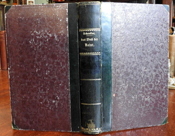 Das Buch der Nature 1856 Friedrich Schoedler German natural sciences textbook