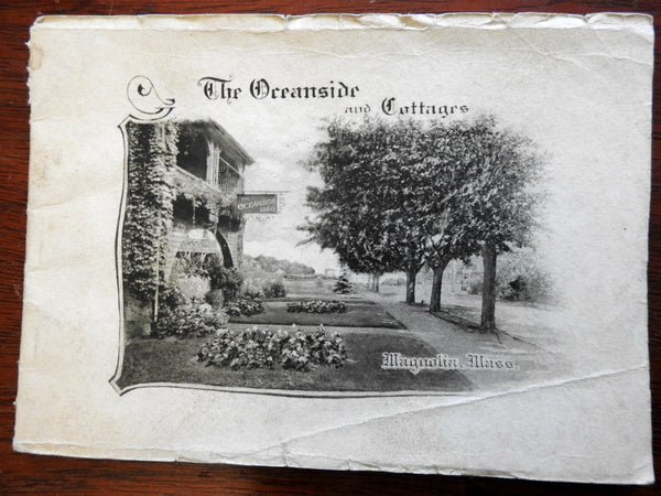 Magnolia Mass. Oceanside & Cottages c.1900-10 Abbott Hotels promo tourist booklet
