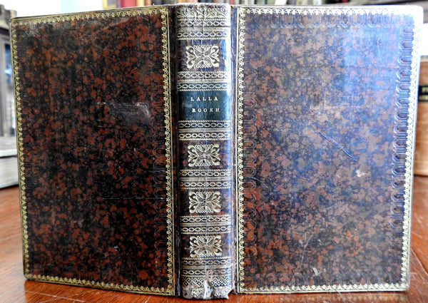 Lalla Rookh 1818 Oriental Romance by Thomas Moore rare American leather book