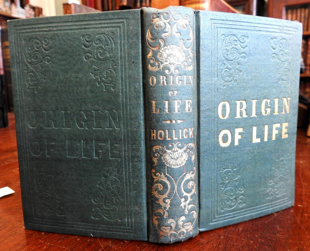 The Origin of Life: Philosophy and Physiology of Reproduction 1845 science book