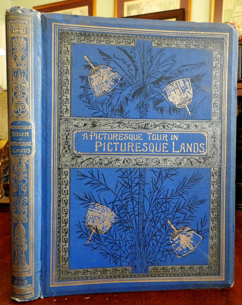 European Picturesque Tour Italy Holland Germany 1882 Seguin illustrated book