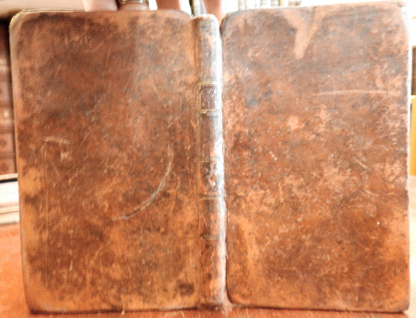 The Village Curate 1793 Early American Book 1st American edition leather binding