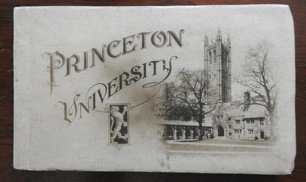 Princeton University Postcard Album c. 1915-20 architectural views 15 cards