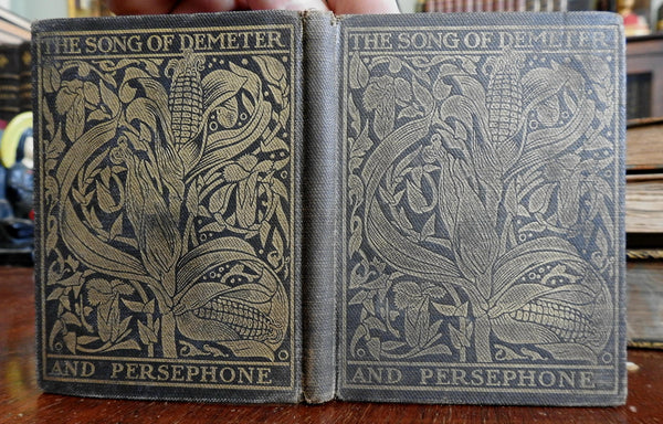 Song of Demeter and Persephone 1902 Donnelley small press Ralph Seymour 1/400 ed