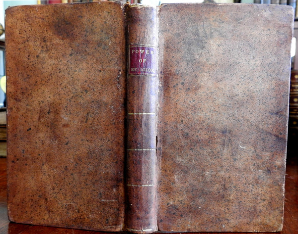 Power of Religion Mind Death Retirement 1799 by Murray New Bedford American book