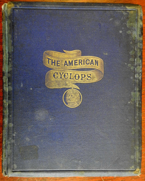 General Butler American Cyclops 1868 American Civil War New Orleans humor book