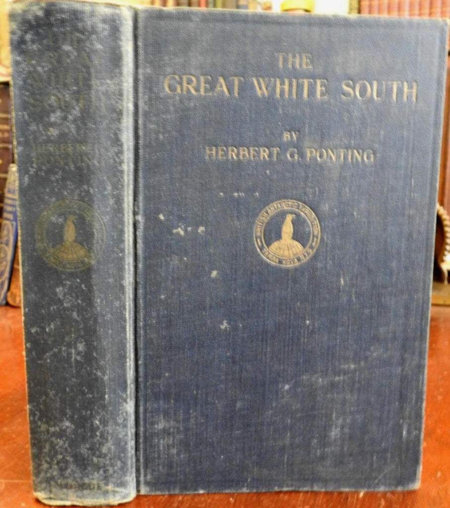 South Pole Great White South 1922 Herbert Ponting Polar Exploration Antarctica
