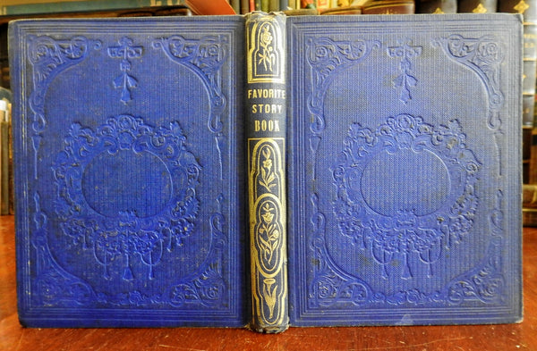 Youth Favorite Story Book 1853 Clara Arnold illustrated book for children