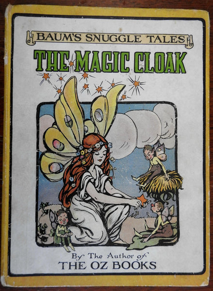 Magic Cloak and Other Stories 1916 L. Frank Baum illustrated children's book Oz