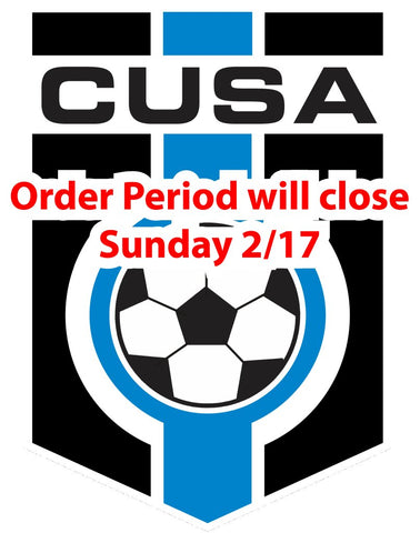 CUSA CLUB STORE order period until 5/13/18 10PM