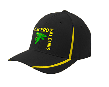 Cicero Falcons Sport-Tek® Flexfit® Performance Colorblock Cap. STC16