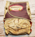 Marauder's Map Contrast Flaps - Choose: size, outer, inner and snaps - DAY WITH WINDPRO