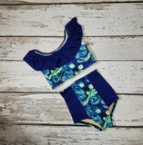 L Tod Starry Night - Mae Vintage Tankini $35 *RTS