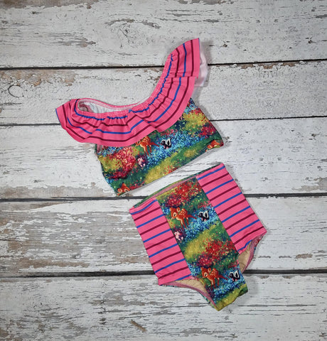 S Tod Adorable Friends - Mae Vintage Tankini $35 *RTS
