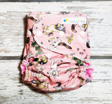 Wild Rumpus Pink - Poly canvas -  Choose: size, outer, inner and snaps - DAY WITH WINDPRO - Hybrid Fitted