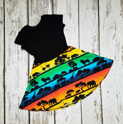 2T - African Safari - Dress - $30