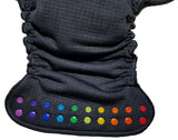 RTS Toddler Bullet Night Rainbow - Windpro Hybrid Fitted- $57