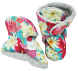 Floral On Turquoise - KB Kicks Boots
