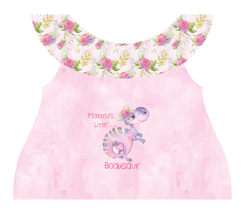 Clothing Set - Newborn - Boobisaur Pink
