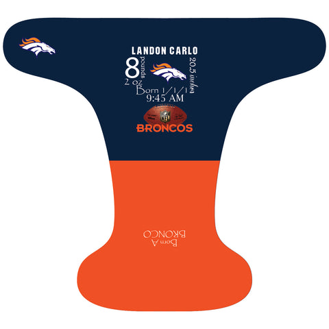 Broncos Birth Stat - Custom - DAY WITH WINDPRO - Hybrid Fitted