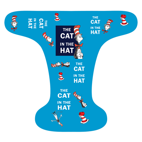 Cat Hat Blue - Choose: size, inner and snaps - DAY WITH WINDPRO - Hybrid Fitted