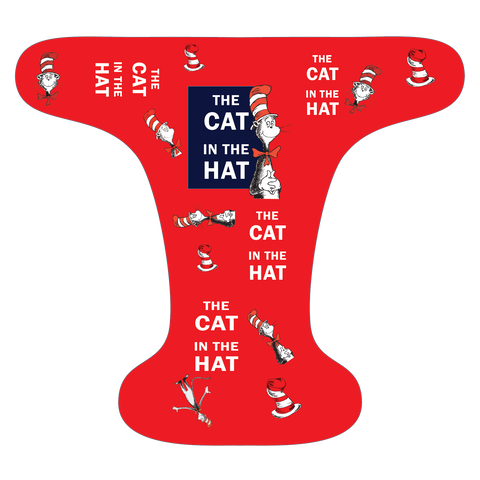 Cat Hat Red - Choose: size, inner and snaps - DAY WITH WINDPRO - Hybrid Fitted