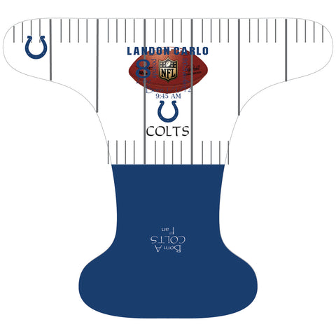 Colts Birth Stat - Custom - DAY WITH WINDPRO - Hybrid Fitted