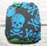 Swimmy - Neon Skulls - Swim Diaper