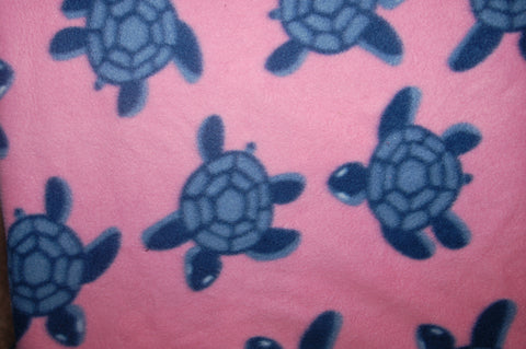 Turtles on Pink - OS NIGHT - Hybrid Fitted - Windpro