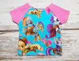 Steam Punk Rainbow Pony - Newborn Shirt