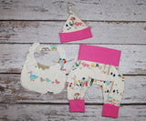 Elephant Party Newborn Set - custom