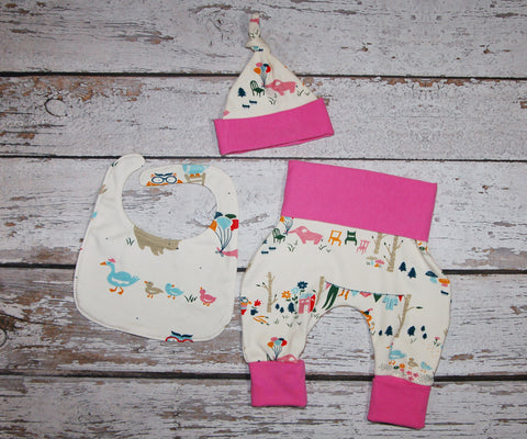 Elephant Party Newborn Set