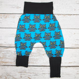 Blue Dragon - Newborn - COTTON/LYCRA Harems (RTS)