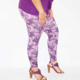 Purple Butterfly - Ladies Small - (Ready To Ship)