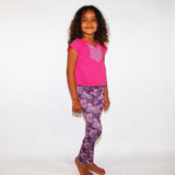 Purple Butterfly- Girls Large - (Ready To Ship)